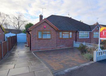Thumbnail 2 bed semi-detached bungalow for sale in Parkstone Avenue, Newcastle, Staffs
