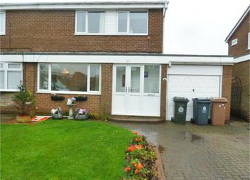 Thumbnail 3 bed semi-detached house for sale in Brookside, Dudley, Cramlington, Tyne And Wear