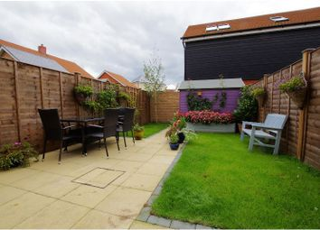 Thumbnail 3 bed terraced house for sale in Lawes Walk, Romsey