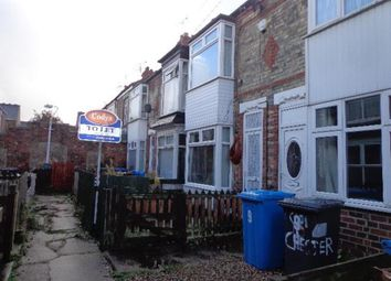 Thumbnail 2 bedroom terraced house for sale in Chester Avenue, Manvers Street, Newland Avenue, Hull