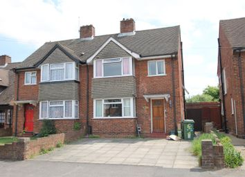 Thumbnail 3 bed semi-detached house for sale in Weir Road, Walton-On-Thames
