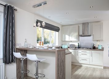 "Thumbnail 4 bed detached house for sale in ""Hampsfield"" at Barnston Mews, Farndon, Chester"