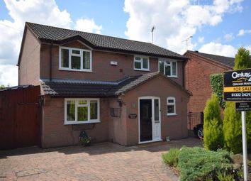 Thumbnail 4 bedroom detached house for sale in Sinfin Moor Lane, Chellaston, Derby