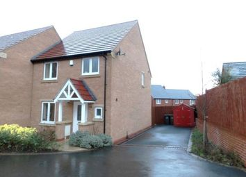 Thumbnail 3 bed semi-detached house for sale in Cowslip Drive, Shepshed, Loughborough