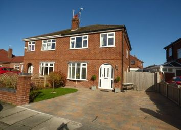 Thumbnail 3 bed semi-detached house for sale in Windermere Avenue, Upton, Cheshire