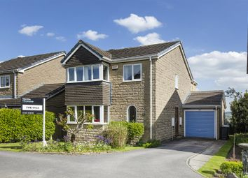 Thumbnail 4 bed detached house for sale in Royd Croft, Reinwood, Huddersfield