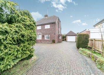 Thumbnail 3 bed detached house for sale in Melford Road, Sudbury