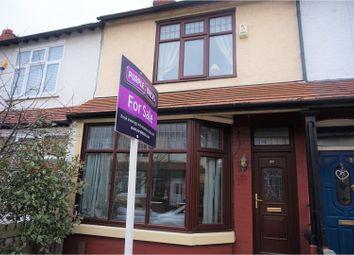 Thumbnail 3 bed terraced house for sale in Warburton Street, Warrington