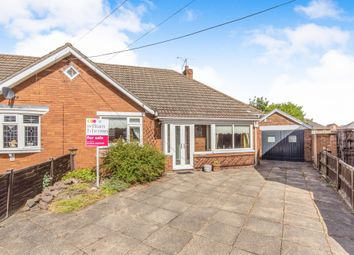 Thumbnail 3 bedroom semi-detached bungalow for sale in Humber Crescent, Scunthorpe