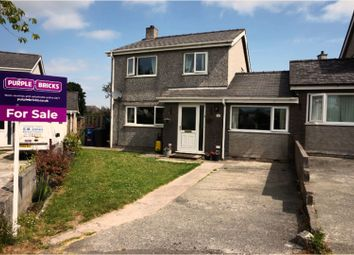 Thumbnail 4 bed link-detached house for sale in Tyn Rhos Estate, Penysarn