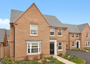 "Thumbnail 4 bedroom detached house for sale in ""Bradbury"" at Claudius Road, North Hykeham, Lincoln"