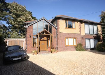 Thumbnail 4 bed detached house for sale in The Ridge, Lower Heswall, Wirral