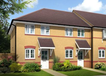 "Thumbnail 2 bed end terrace house for sale in ""Ashford"" at Lime Pit Lane, Cannock"