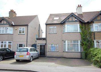 Thumbnail 4 bed semi-detached house for sale in Mill Lane, Chadwell Heath, Romford