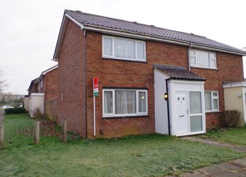 Thumbnail 2 bed semi-detached house to rent in Greenside, Northampton