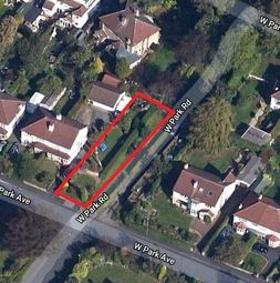 Thumbnail Land for sale in West Park Avenue, Roundhay, Leeds