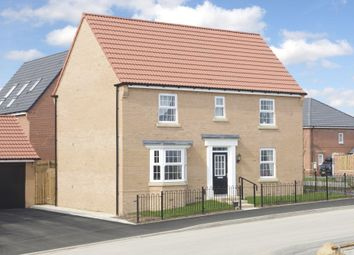 "Thumbnail 4 bed detached house for sale in ""Layton"" at Burnby Lane, Pocklington, York"