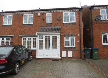 Thumbnail 4 bed semi-detached house for sale in Woodruff Way, Walsall