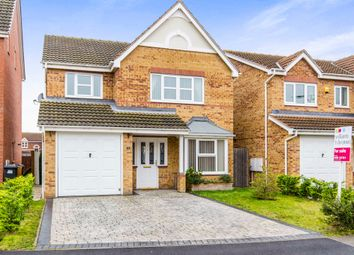 Thumbnail 4 bed detached house for sale in Wakelam Drive, Armthorpe, Doncaster