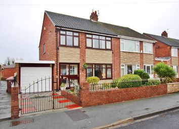 Thumbnail 3 bed semi-detached house for sale in Parkside Avenue, Sutton Manor, St Helens