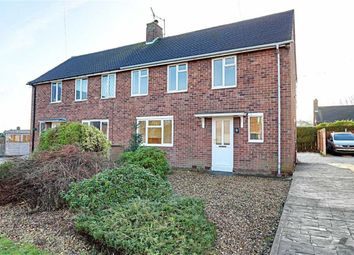 Thumbnail 3 bed semi-detached house for sale in Wimbourne Crescent, Newbold, Chesterfield, Derbyshire