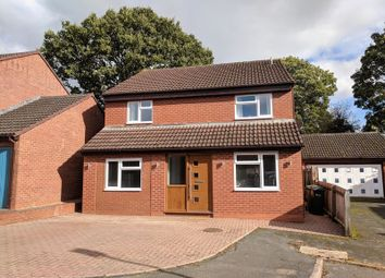 Thumbnail 4 bed detached house for sale in Cleeve Orchard, Holmer, Hereford