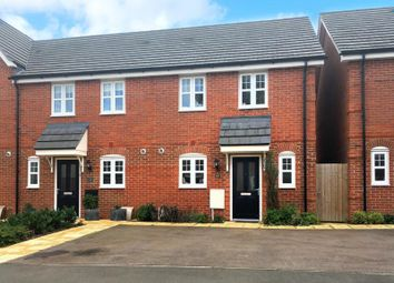 Thumbnail 2 bed end terrace house to rent in Catlin Way, Rushden, Northamptonshire