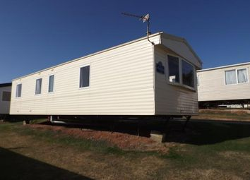 Thumbnail 3 bedroom mobile/park home for sale in Devon Cliffs Holiday Park, Exmouth, Devon