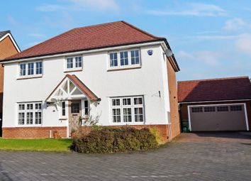Thumbnail 4 bed detached house for sale in Kings Meadow, Farndon, Chester
