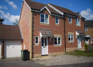 Thumbnail 2 bed semi-detached house to rent in Crocus Mead, Thatcham