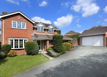 Thumbnail 4 bed detached house for sale in Broadley Court, Parkwood Close, Roborough, Plymouth