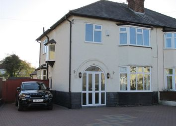 Thumbnail 4 bed semi-detached house for sale in Fairacres Road, Bebington, Wirral