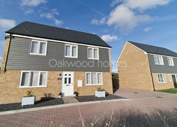Thumbnail 3 bed detached house for sale in Mannock Drive, Manston, Ramsgate