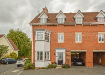 Thumbnail 4 bedroom town house for sale in Manor Farm Close, Haverhill