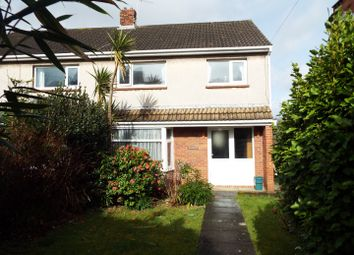 Thumbnail 3 bedroom semi-detached house for sale in Woodend, (In-Between No.17 & 19), Overland Road, Langland, Swansea