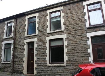Thumbnail 3 bedroom terraced house to rent in Railway View, Williamstown, Tonypandy, Rhondda Cynon Taff.
