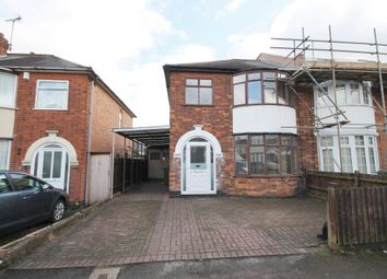 Thumbnail 3 bed semi-detached house to rent in Riddington Road, Braunstone, Leicester