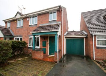 Thumbnail 3 bed semi-detached house for sale in Montonmill Gardens, Eccles, Manchester