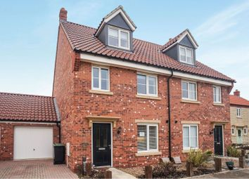 Thumbnail 3 bed semi-detached house for sale in Kirk Road, Branston
