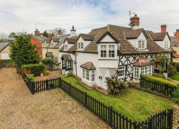 Thumbnail 2 bed semi-detached house for sale in Broad Green, Cheveley, Newmarket