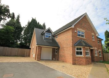 Thumbnail 5 bed detached house for sale in Brackendale Close, Frimley, Camberley