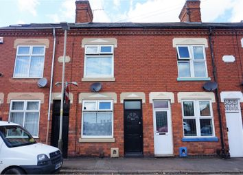 Thumbnail 2 bed terraced house to rent in Beaumanor Road, Leicester