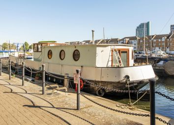 Thumbnail 4 bedroom houseboat for sale in South Dock Marina, Rope Street, Rotherhithe