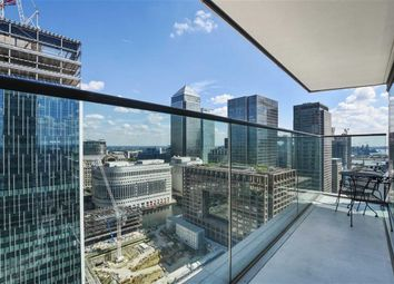Thumbnail 2 bed flat for sale in Landmark East Tower, London