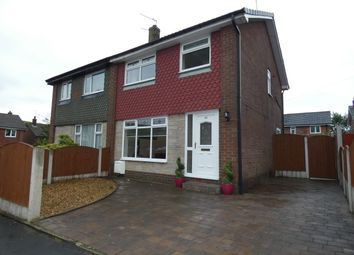 Thumbnail 3 bed semi-detached house for sale in Newhouse Close, Wardle, Rochdale