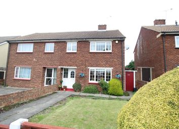 Thumbnail 3 bed semi-detached house for sale in Dene Holm Road, Northfleet, Gravesend