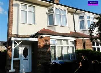 Thumbnail 3 bed semi-detached house to rent in Willow Road, Enfield
