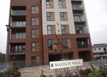 Thumbnail 1 bed flat to rent in Maddison Walk, Birmingham