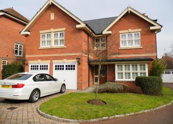 Thumbnail 5 bed detached house to rent in Woodham Gate, Woodham Park, Woking, Surrey