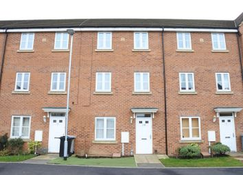 Thumbnail 4 bed town house for sale in Hartington Close, Grantham